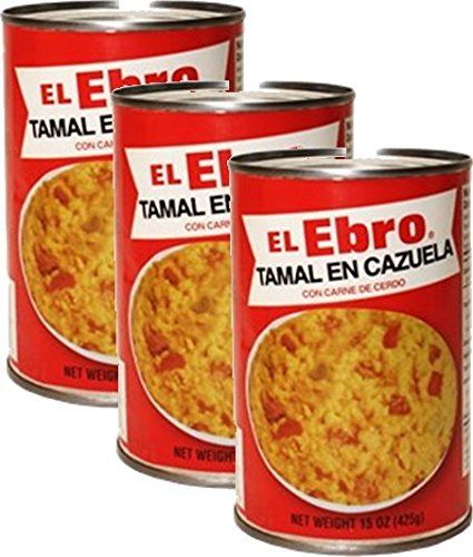 El Ebro- Tamale Casserole w/pork 15oz (3-Pack) by El Ebro