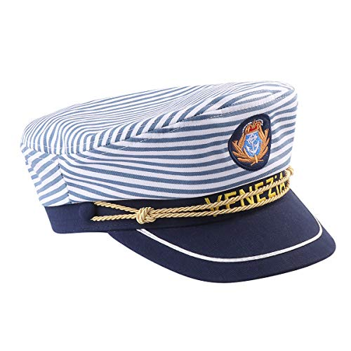 Amosfun Captain Hat Navy Marine Admiral Hat Sailor for sale  Delivered anywhere in USA