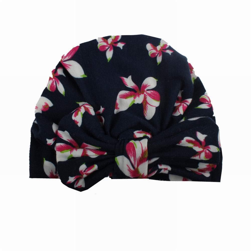 SELUXU 1pc cappelli del bambino annodati con morbido svegli turbante della fascia cap India cappello intarsio annodato coniglio orecchio stylefor neonato