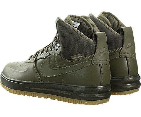 Nike Lunar Force 1 SneakerBoots (Kids) Green by Nike (Image #3)