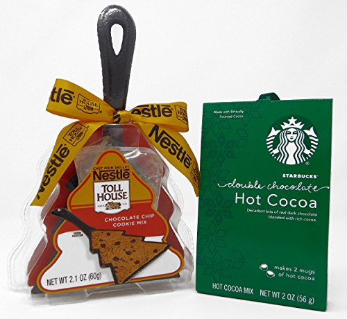 Starbucks Double Hot Cocoa Mix & Nestle Toll House Chocolate...