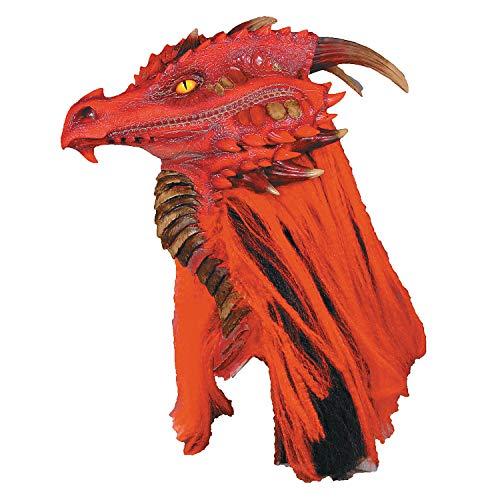 - Fun Express - Brimstone Dragon Premiere Mask for Halloween - Apparel Accessories - Costume Accessories - Masks - Halloween - 1 Piece