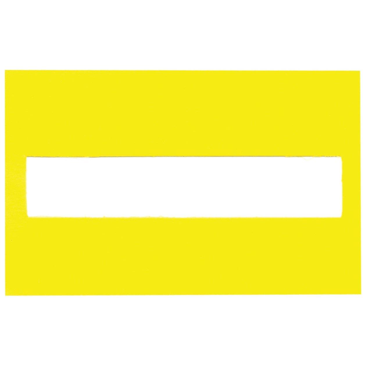 Signature Guide - Yellow Plastic