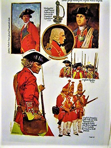 The French and Indian War: Men & Uniforms 1754-1763 (Signed by Artist)