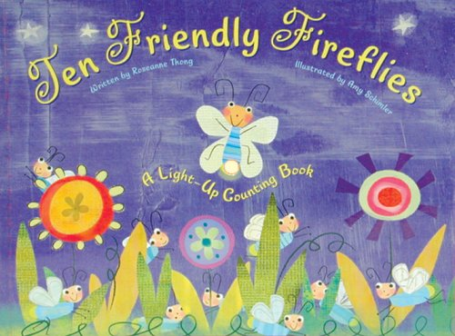 Ten Friendly Fireflies: A Light-up Counting Book PDF