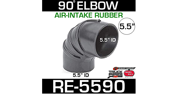 """POWER PRODUCTS Rubber Elbow 5.5/""""  90deg RE55"""