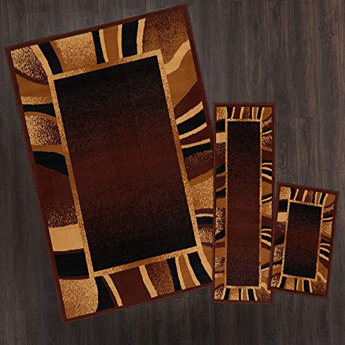 Home Dynamix 7542-500 Ariana Konya Area Rug 3 Piece Set (4'11