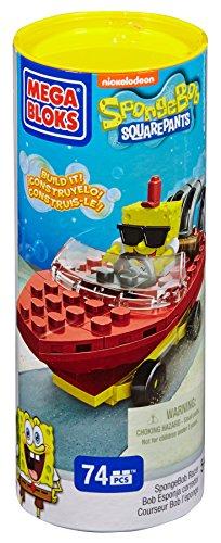 Mega Bloks SpongeBob Racer (Spongebob Race To The Krusty Krab Game)