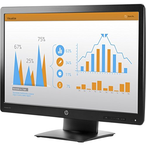 HP K7X31A8#ABA ProDisplay P232 23'' LED-Backlit LCD Monitor, Black
