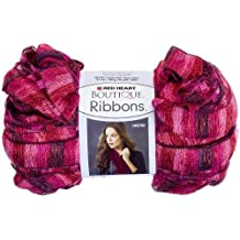 Red Heart E790.1941 Boutique Ribbons Yarn, Rosebud by Coats & Clark Inc.