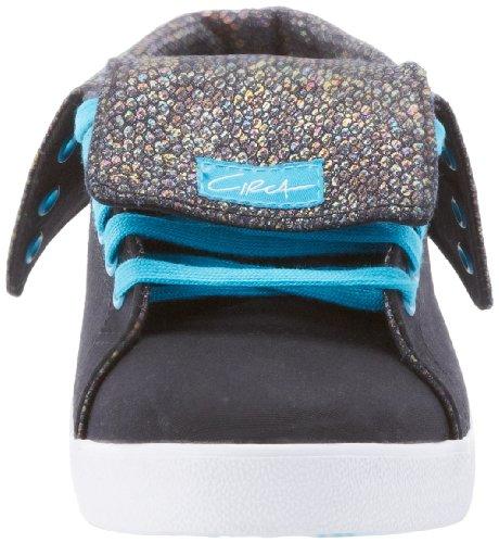 Sneaker Natasha High Iridescence Women's C1RCA Black qR5OtUwq