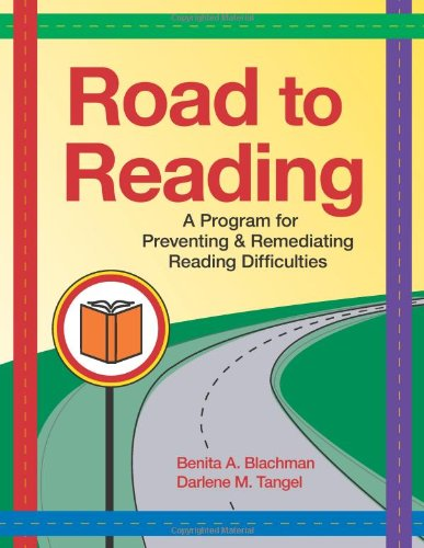 Remedial Reading Programs - Road to Reading: A Program for Preventing and Remediating Reading Difficulties (Vital Statistics)