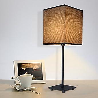 SBWYLT Design Tisch Lampe Moderne Schlafzimmer Den Wohnzimmer Stehleuchte  Einfach Mode Bett Dekorative Tischleuchte