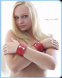 KinkLab Bondage Basics Leather Wrist Cuffs