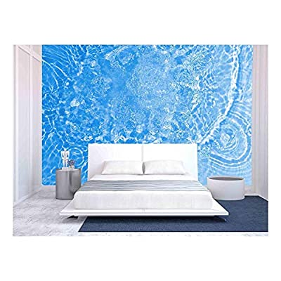 Fresh Water Background - Removable Wall Mural   Self-Adhesive Large Wallpaper - 100x144 inches