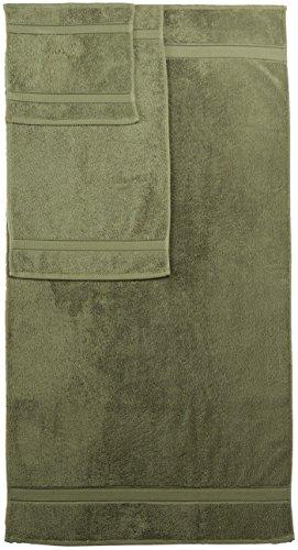 Pinzon Blended Egyptian Cotton 6-Piece Towel Set, Moss