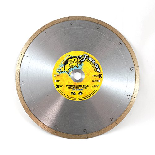 Delta Diamond Products-J-Slot 10-inch Tile Saw Blade