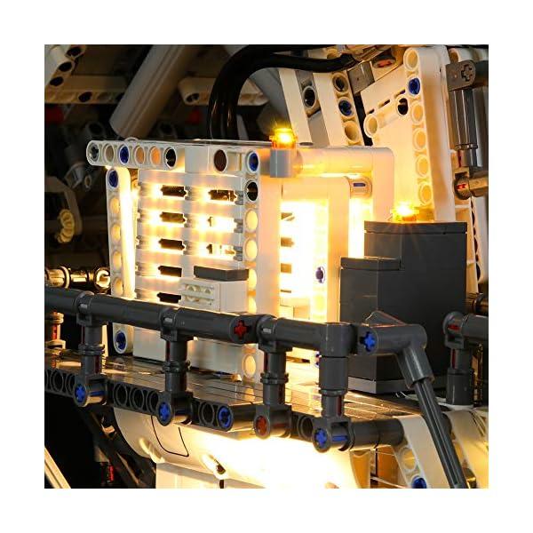 LIGHTAILING Set di Luci per (Technic Power Functions Escavatore Liebherr R 9800) Modello da Costruire - Kit Luce LED… 5 spesavip