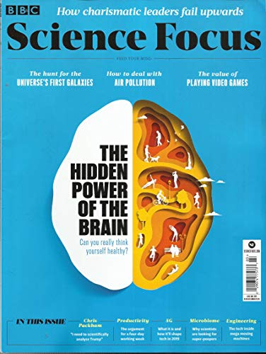 BBC SCIENCE FOCUS MAGAZINE, FEED YOUR MIND THE HIDDEN POWER OF THE BRAIN MARCH, 2019 ISSUE # 333 ( PLEASE NOTE: ALL THESE MAGAZINES ARE PET & SMOKE FREE MAGAZINES. NO ADDRESS LABEL. FRESH FROM NEWSSTAND) (SINGLE ISSUE MAGAZINE) (Feed Magazine)