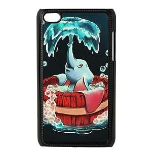 iPod 4 Black Cell Phone Case Dumbo KVCZLW2374 Phone Case Cover Durable Unique