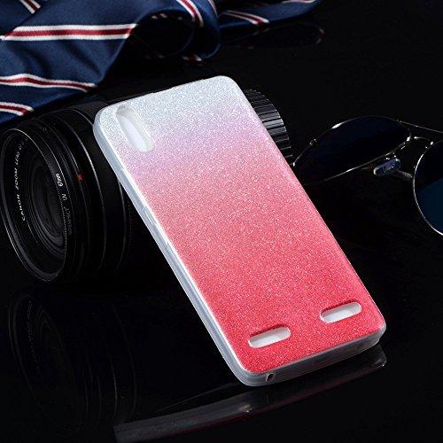 Para más la caja de Lenovo A6000 A 6000 6010 K3 K30T silicio de la cubierta del brillo ultra delgadas casos de teléfono suave TPU brillante YP