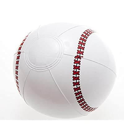 Rhode Island Novelty Inflatable Baseballs 1 Pack: Toys & Games