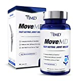 1MD MoveMD - Joint Relief Supplement - Fast-Acting, Doctor Recommended | with Collagen, Astaxanthin, and More | 30 Capsules