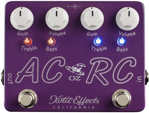 Xotic Effects Booster Ac (Xotic AC/RC-OZ Oz Noy Limited Edition Boost/Overdrive Effects Pedal)