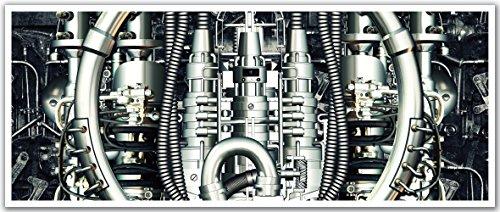 JP London PAN5036 uStrip Retro Vintage Future Tech Machin...
