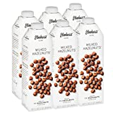 Elmhurst 6pk Milked Hazelnuts 32 oz. Creamy & Delicious Hazelnut Milk. More Nuts! More Nutrition! Gluten Free, Lactose Free, Vegan Beverage.
