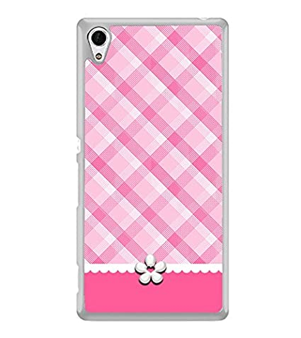 sports shoes 848fb e5ac7 PrintVisa Pinky Checkered High Gloss Designer Back Case: Amazon.in ...