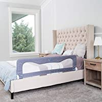 Bed Safety Rails for Toddlers - Bed Rail Guard for Queen, King, Full Size, Double Twin, Kids Twin Mattress and Bed