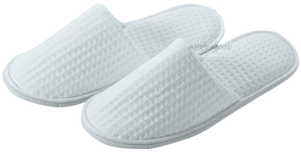 Appearus Cotton Waffle Slippers (100 Pairs) by Appearus (Image #3)