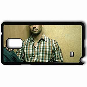Personalized Samsung Note 4 Cell phone Case/Cover Skin Paul Walker Man Celebrity Shirt Black