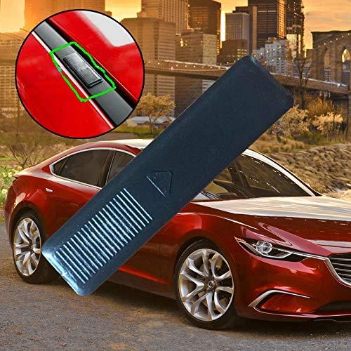 Leaftree 2 St/ück Dachreling Clip Cover-Silikon Staubschutz f/ür Mazda 2 3 6 CX5 CX7 CX9