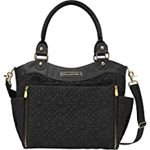 Petunia Pickle Bottom City Carryall Diaper Bag in Bedford Avenue Stop Special Edition, Gold