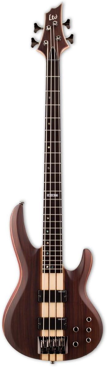 esp ltd b 4e bass guitar, natural satin  esp ltd vintage 204 electric bass guitar wiring diagram #7