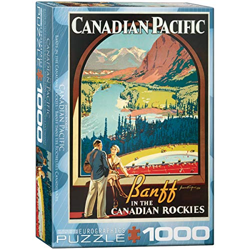 EuroGraphics CP Rail in The Canadian Rockies Puzzle (1000-Piece)