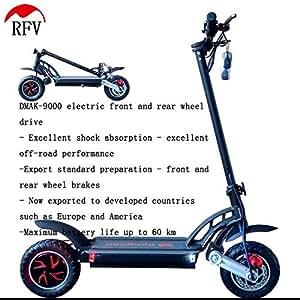 RFV Scooter Eléctrico de Doble Tracción, Scooter Eléctrico ...