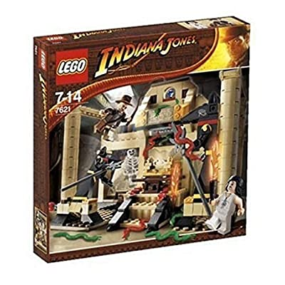 LEGO Indiana Jones 7621: Indiana Jones and The Lost Tomb: Toys & Games