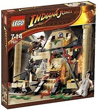 MINIFIG MINIFIGURE 2009 RARE LEGO 7195 INDIANA JONES Open Shirt
