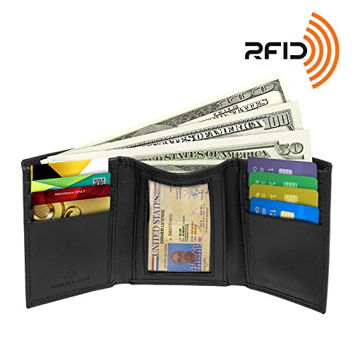 rfid-blocking-wallet-for-men-rfid-trifold-leather-wallet-by-ross-michaels-black
