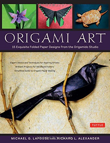 Origami Art: 15 Exquisite Folded Paper Designs from the Origamido Studio: Intermediate and Advanced Projects: Origami Bo