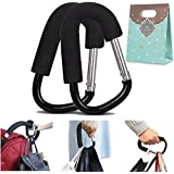 (Pack of 2) Extra Large Stroller Hooks, Mini-Factory...