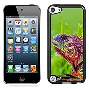 New Personalized Custom Designed For iPod Touch 5th Phone Case For Beautiful Chameleon Phone Case Cover