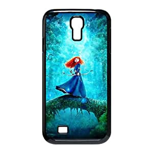 Samsung Galaxy S4 9500 Cell Phone funda negro Disneys valiente ALUK
