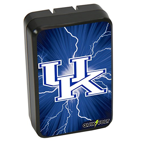 NCAA Kentucky Wildcats WP-200 Dual-Port USB Wall Charger - Wildcats Dual Stand