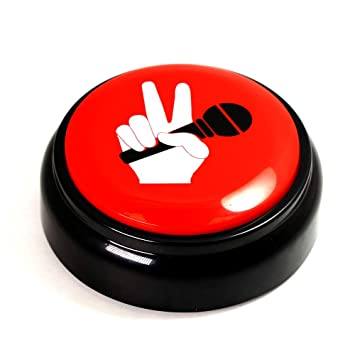 Record Talking Button Custom Easy Button Record Any 30 Seconds Funny  Message,Sound Record Button , Press Button A