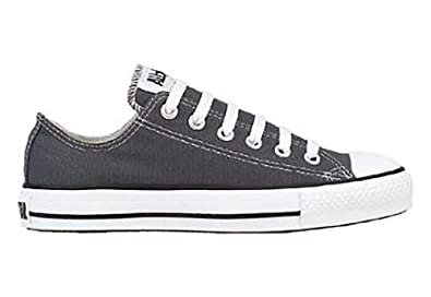 b9808fa5153e Image Unavailable. Image not available for. Color  Converse Chuck Taylor  All Star Lo Top Charcoal with Extra Pair of Black Laces men s 6.5