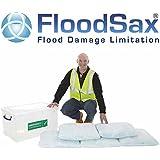 5 X Floodsax Water Absorb Flood Sandbag Sand Bag Alternative Chemical 20 Litre by Floodsax
